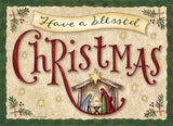 Have a Blessed Christmas Exceptional Value