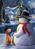 Snowman Puppy Exceptional Value