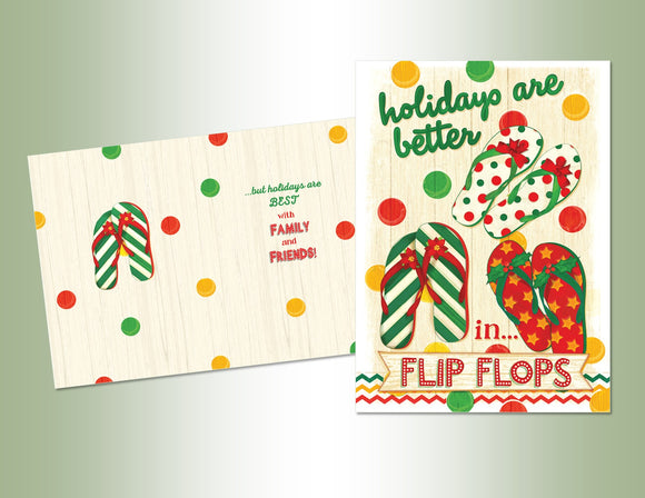 Holiday Flip Flops - Exceptional Value