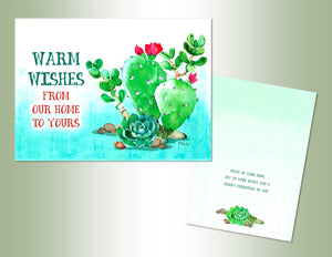 Warm Wishes Cactus - Exceptional Value