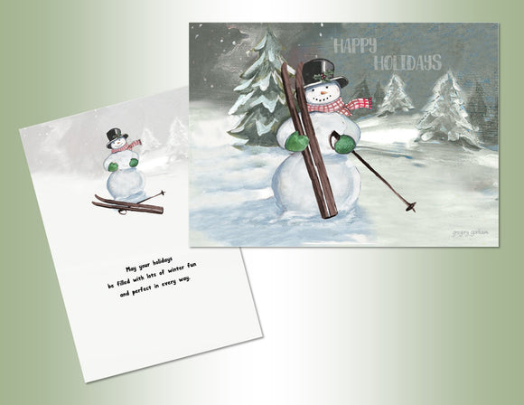 Happy Holidays Snowman - Exceptional Value