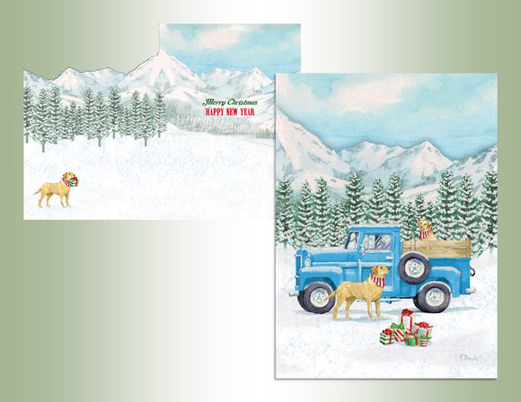 Dog and Truck - Die Cut Collection