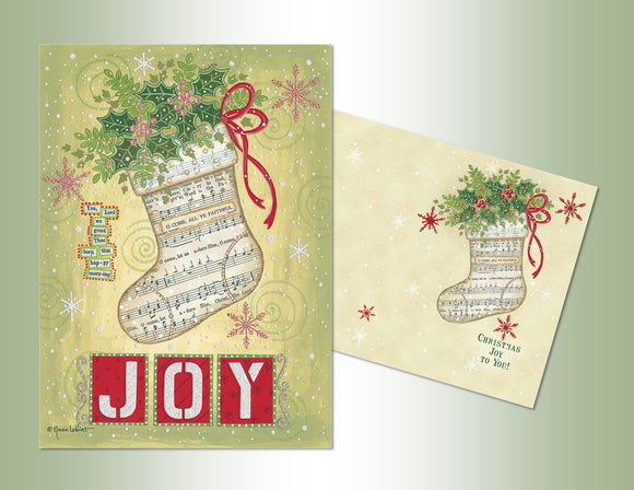 JOY Stocking - Die Cut Collection