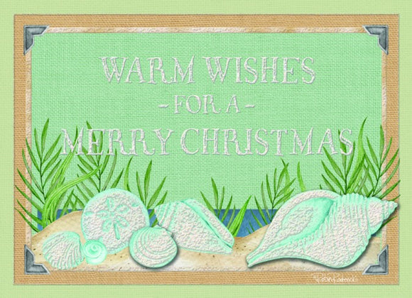 Warm Wishes Shells - Hand Embellished