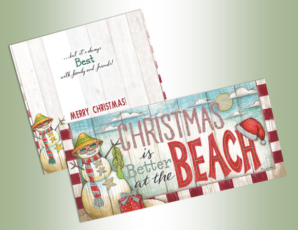 Christmas at the Beach - Long Glitter