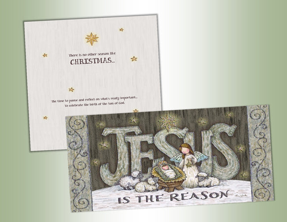 Jesus is the Reason - Long Glitter