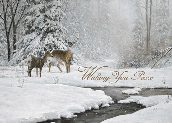 Wishing You Peace - Deluxe Glitter