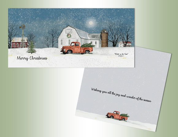 Christmas Farm - Long Glitter