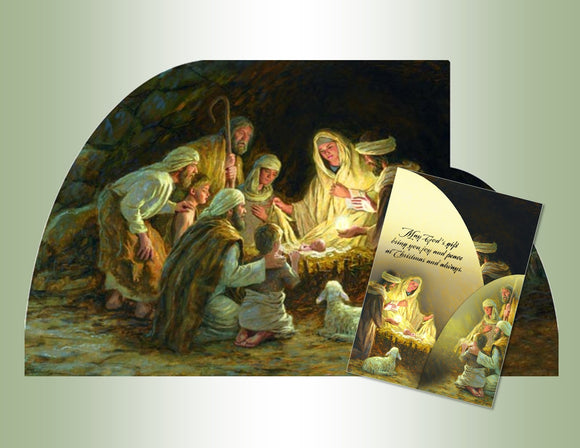 Nativity - Panoramic Tri-Fold
