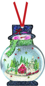 Snowman - Ornament Card
