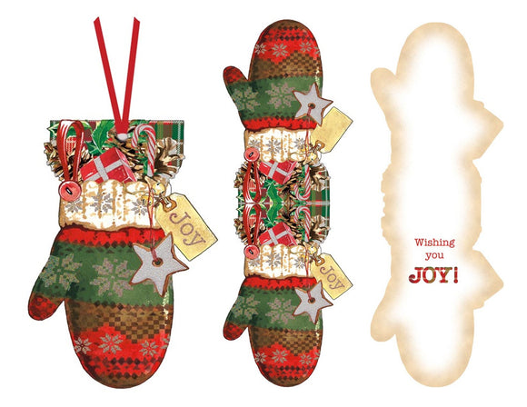 Mitten - Ornament Card