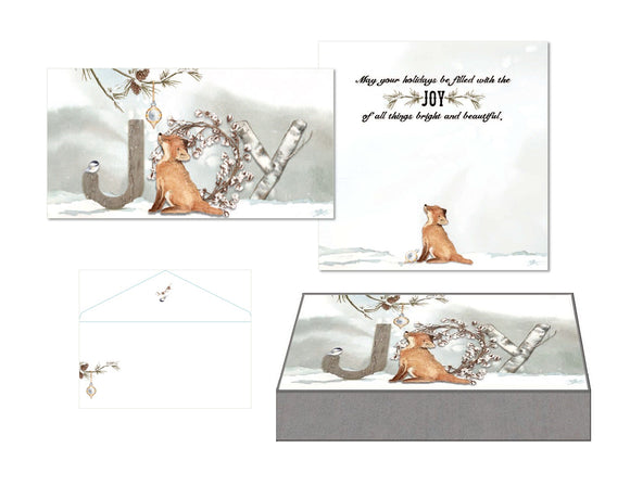 JOY Fox - Mini Long Glitter Keepsake