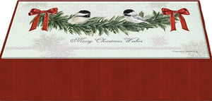 Chickadees - Mini Long Glitter Keepsake