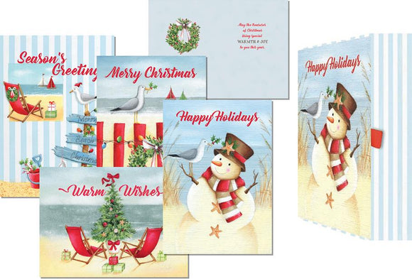 Coastal Christmas - Assorted Keepsake