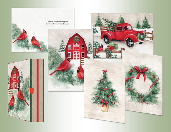 Country Christmas - Assorted Keepsake
