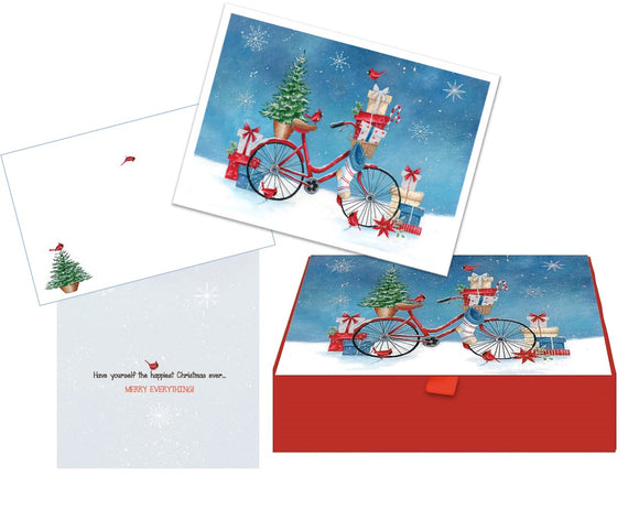 Christmas Bike - Glitter Keepsake