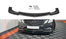 Laden Sie das Bild in den Galerie-Viewer, Maxton Design Front Ansatz passend für  Mercedes-Benz E-Klasse W207 Coupe AMG-Line Carbon Look