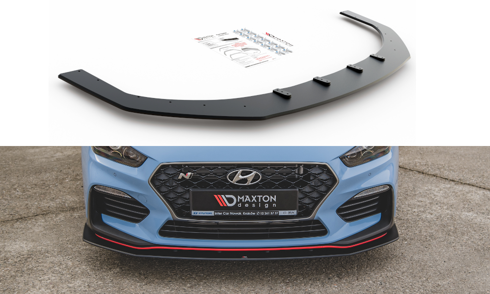Maxton Design Robuste Racing Splitter Hyundai I30 N Mk3 Hatchback / Fastback