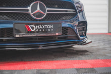 Laden Sie das Bild in den Galerie-Viewer, Maxton Design Front Ansatz passend für V.1 Mercedes A35 AMG W177 Carbon Look