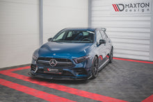 Laden Sie das Bild in den Galerie-Viewer, Maxton Design Front Ansatz passend für V.3 Mercedes A35 AMG W177 Carbon Look