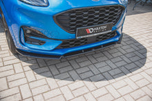 Laden Sie das Bild in den Galerie-Viewer, Maxton Design Front Ansatz passend für Ford Puma ST-Line Carbon Look