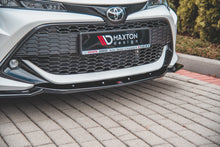 Laden Sie das Bild in den Galerie-Viewer, Maxton Design Front Ansatz passend für V.2 Toyota Corolla XII Touring Sports/ Hatchback Carbon Look