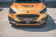 Laden Sie das Bild in den Galerie-Viewer, Maxton Design Front Ansatz passend für V.7 Ford Focus ST / ST-Line Mk4 Carbon Look