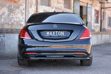 Laden Sie das Bild in den Galerie-Viewer, Maxton Design Spoiler CAP passend für Mercedes S-KLASSE W222 Carbon Look