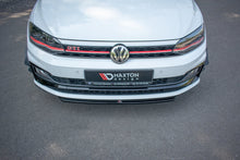 Laden Sie das Bild in den Galerie-Viewer, Maxton Design Front Ansatz passend für V.4 VW Polo GTI Mk6 Carbon Look