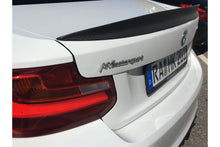 Laden Sie das Bild in den Galerie-Viewer, MK-Motorsport Carbon Spoiler Gurny-Flap für BMW F87 M2