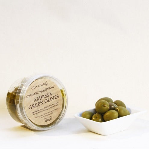 Organic Greek olives