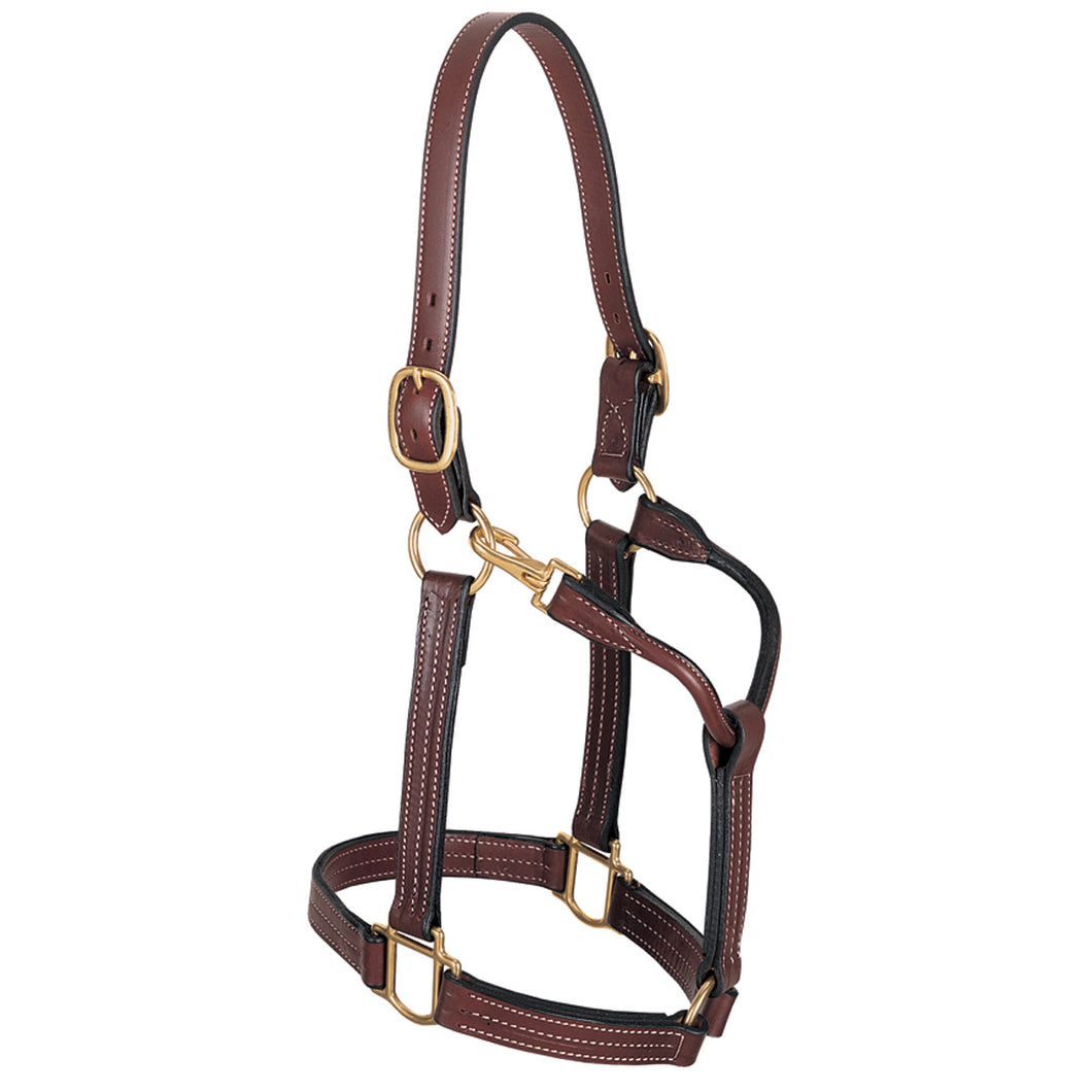 Weaver Triple Stitched Leather Halter