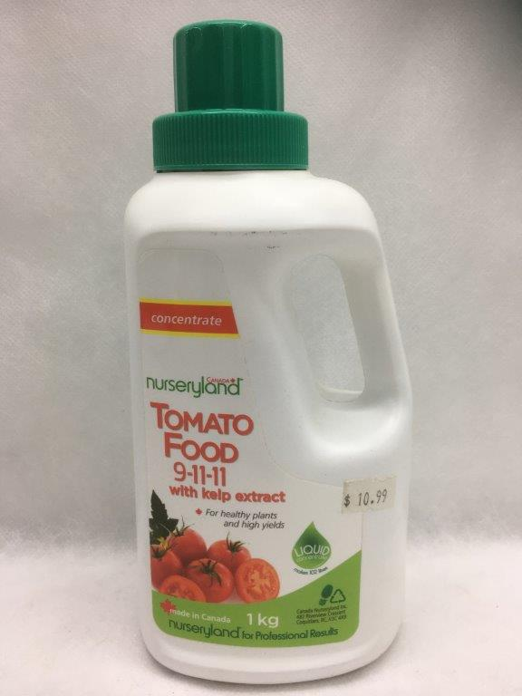 Nurseryland Tomato Liquid 9-11-11