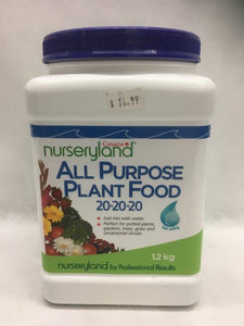 Nurseryland Plant Food 20-20-20