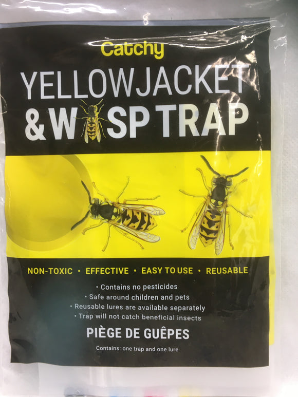 Wasp - Catchy Yellowjacket & Wasp Trap (comes with lure)