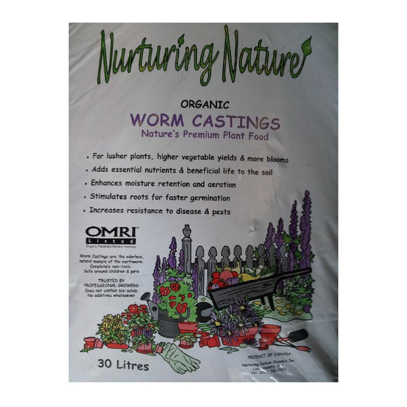 Worm Castings Nurting Nature