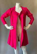 Load image into Gallery viewer, Raspberry Pink Cocktail Coat