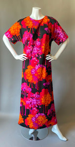 Mod Fuchsia Forest Maxi Dress