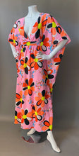 Load image into Gallery viewer, O'pell Mod Happy Days Print long torso Caftan