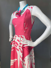 Load image into Gallery viewer, Mod Pink Abstract Malia Sun Dress