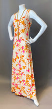 Load image into Gallery viewer, Vintage Floral Mod Maxi Dress