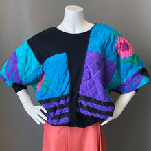 Load image into Gallery viewer, 1980s Quilted Patchwork Puffy Sweatshirt