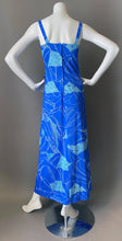 Load image into Gallery viewer, Mod Ocean Print Maxi Sun Dress