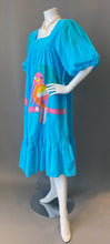 Load image into Gallery viewer, 1980s Ramona Rull Applique Parrot Tunic Sun Dress