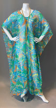 Load image into Gallery viewer, O'pell Sheer Mod Print Tunic Caftan