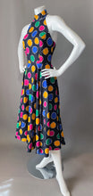 Load image into Gallery viewer, Vintage 80s AJ Bari Colorful Polka Dot Sun Dress