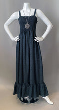 Load image into Gallery viewer, 1970s Bohemian Eyelet Maxi Sun Dress