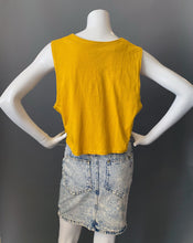 Load image into Gallery viewer, 1980s Yellow Cotton Knit Vest