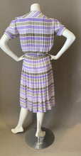 Load image into Gallery viewer, Vintage 80s Louis Feraud Striped Secretary Dress