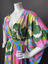 Load image into Gallery viewer, O'pell Eduardo Print Mod Long Torso Caftan